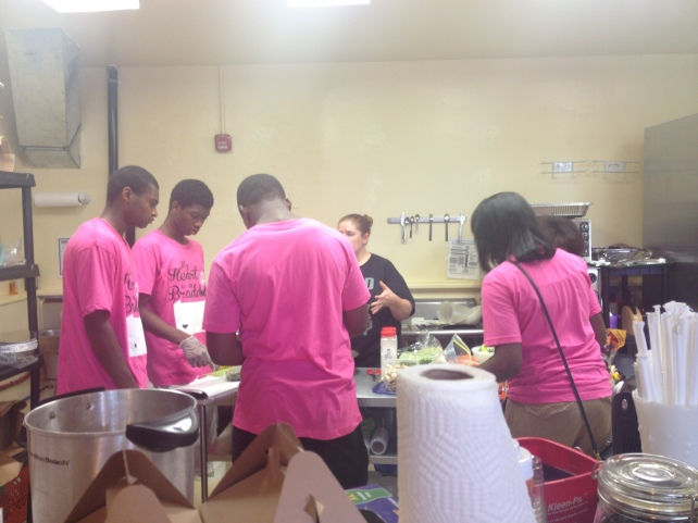 Food Being Prepared from BYP Cafe Team